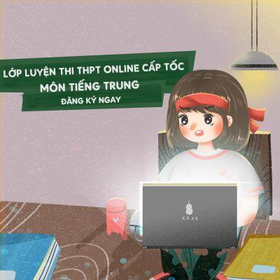 Hình ảnh Ôn thi đại học môn tiếng Trung siêu đỉnh tại THANHMAIHSK 1