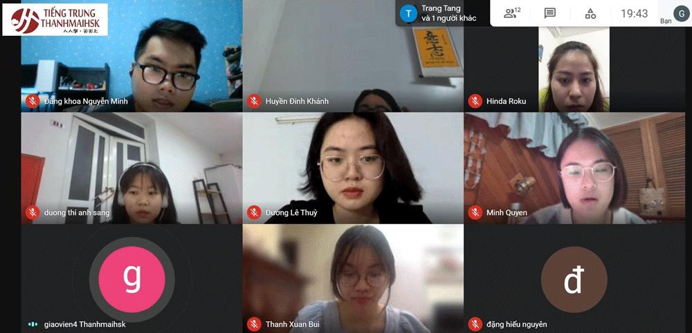 Học trực tuyến cùng giáo viên qua Google Meet