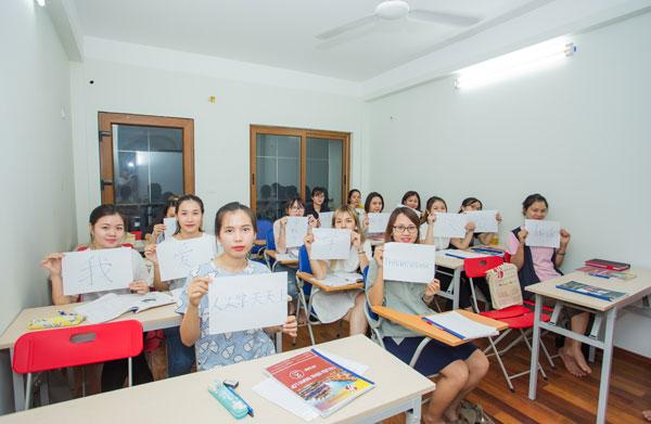 Học viên học tại cơ sở Cầu Giấy