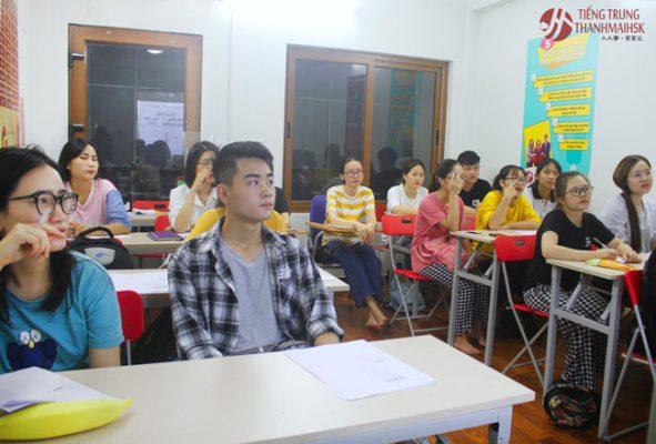 Lớp học tiếng Trung tại THANHMAIHSK quận 1