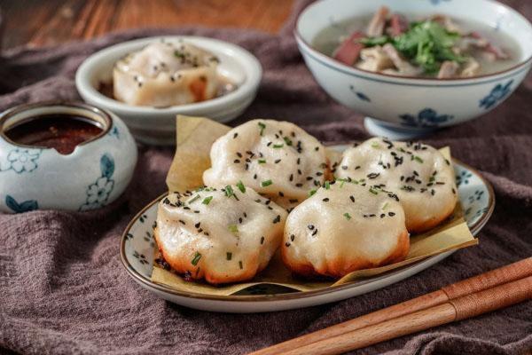 Bánh bao chiên nước Thượng Hải