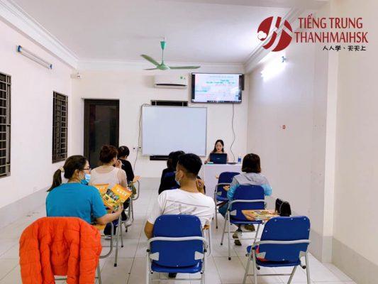 Lớp học tiếng Trung ở Bắc Ninh