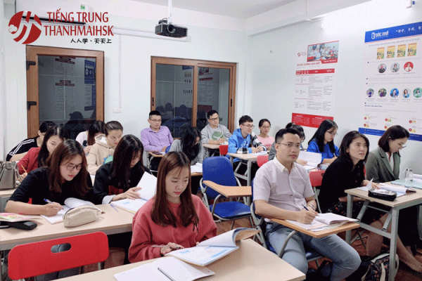 Các lớp học tại THANHMAIHSK cam kết chuẩn đầu ra, giúp học viên thi đỗ HSK, HSKK