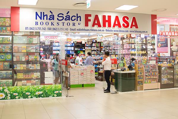 Nhà sách Fahasa - địa chỉ mua sách tiếng Trung