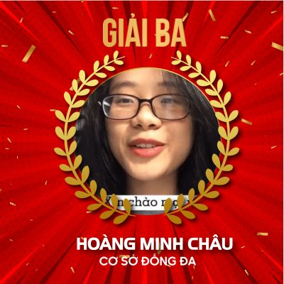 Học viên Hoàng Minh Châu