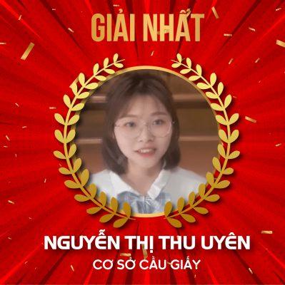 Học viên Nguyễn Thị Thu Uyên