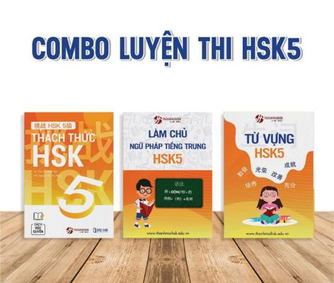 Combo sách luyện thi HSK 5