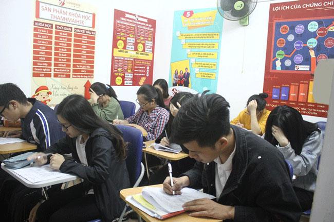 Học viên lớp luyện thi HSK5