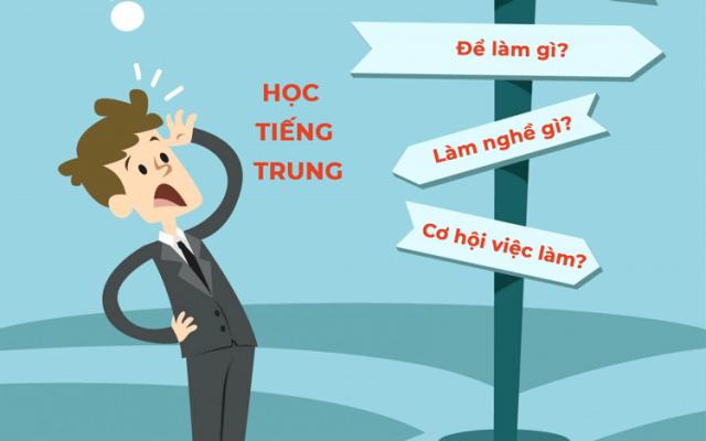 Học tiếng Trung ra làm nghề gì?