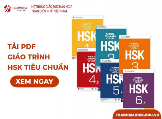 Giáo trình hsk tiêu chuẩn PDF